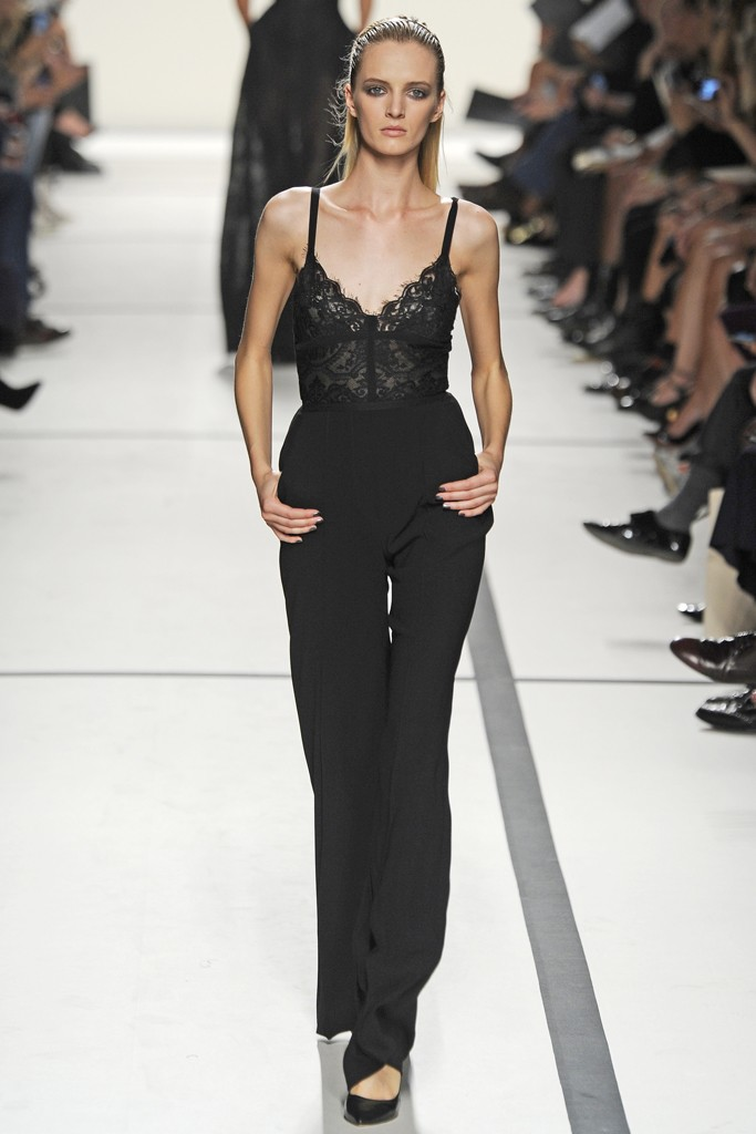 Paris Fashion Week Septembre 2013 Trends To Watch Part I Lace And See Through 15 Oct 2013