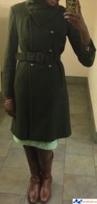 madewell_silk_shirt_button_down_jcrew_tweed_skirt_bcbg_coat_military_style